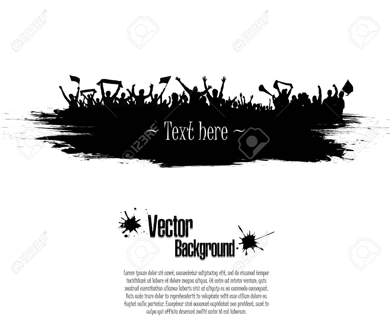 Grunge Background For Sporting Events And Concerts Grunge Banner Royalty Free Cliparts Vectors And Stock Illustration Image 104727922