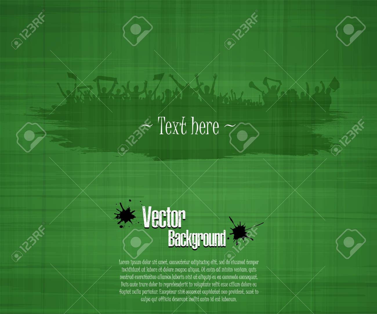 Grunge Background For Sporting Events And Concerts Grunge Banner Royalty Free Cliparts Vectors And Stock Illustration Image 104947545