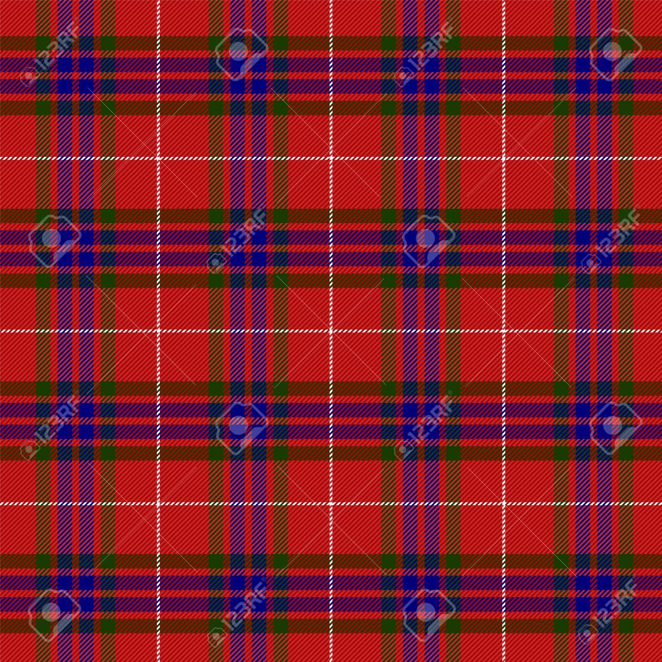 Tartan plaid  Scottish pattern in black, pink and orange cage