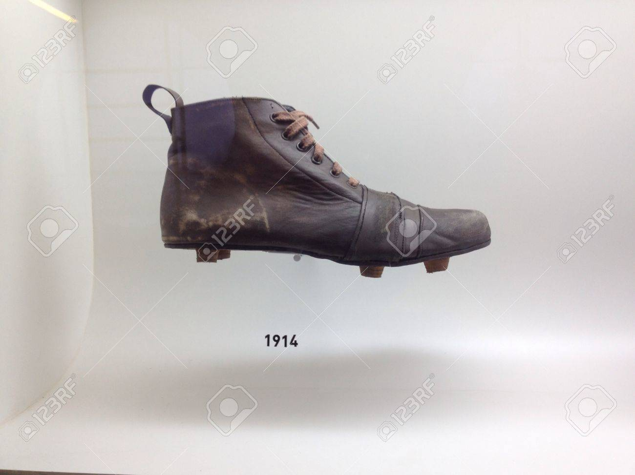 most popular low priced good out x Sao Paulo, Brazil - Old football boots that were used by the..