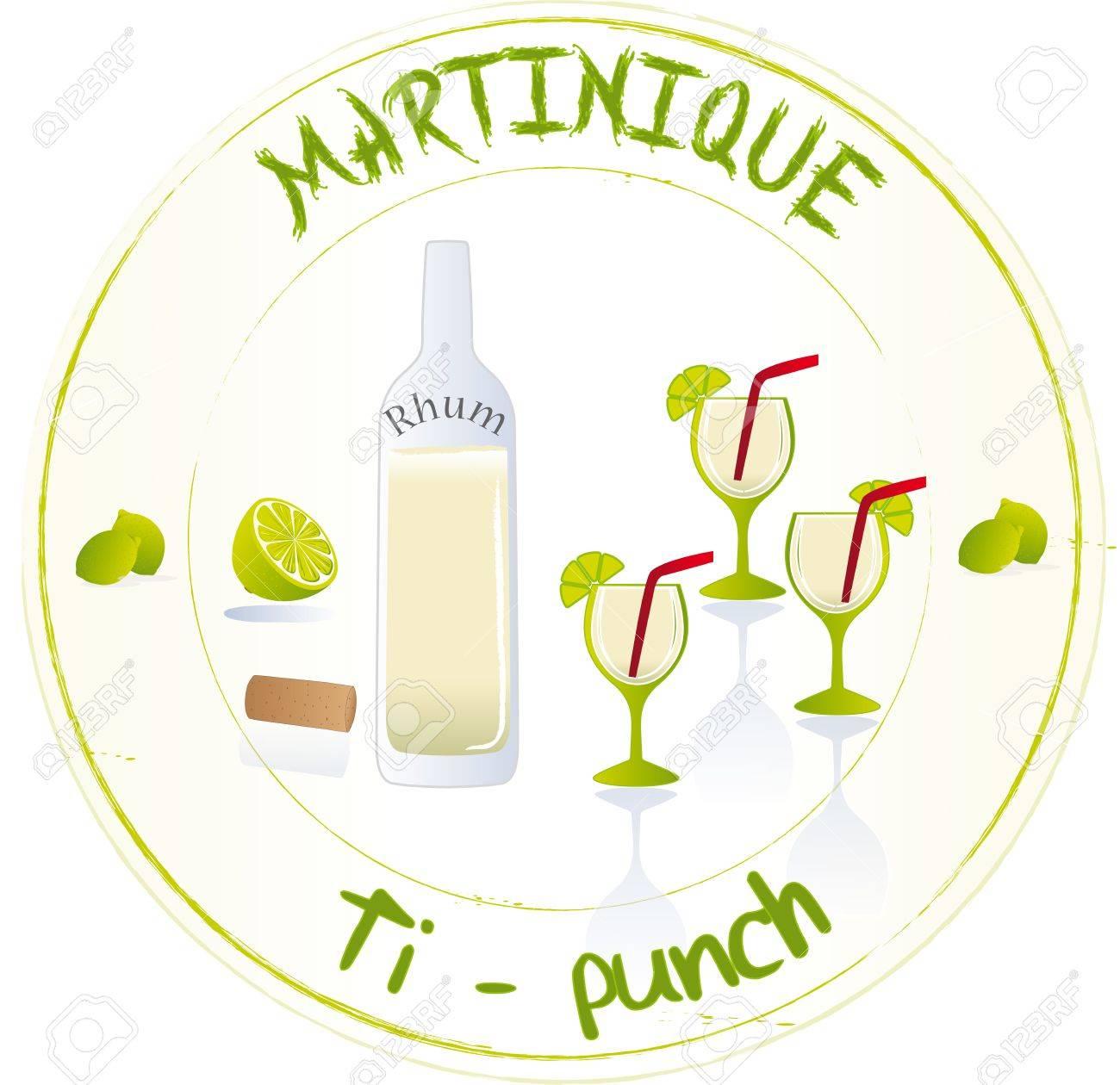 Martinique Ti-punch - 29857461