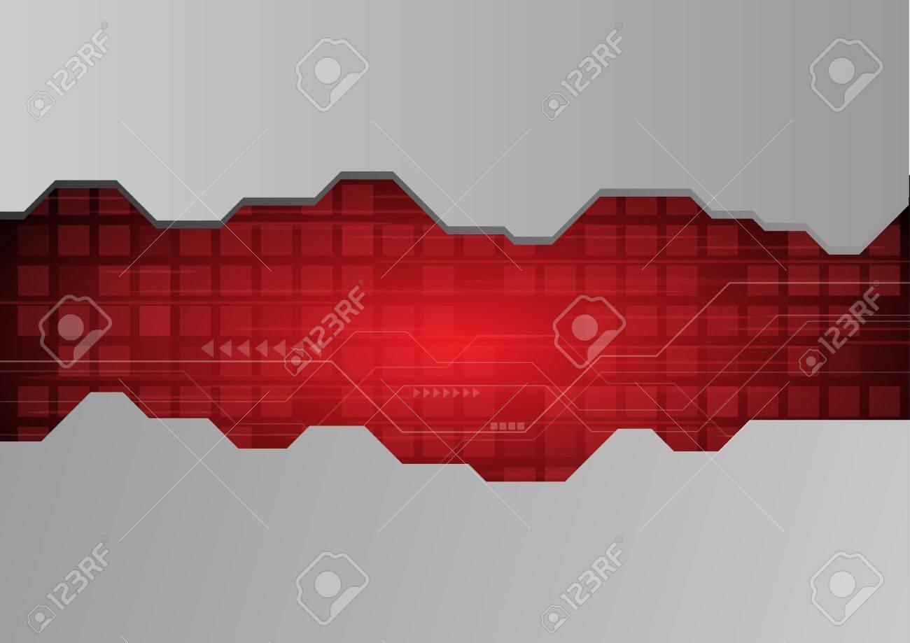 Abstract techno wallpaper Stock Vector - 12914800