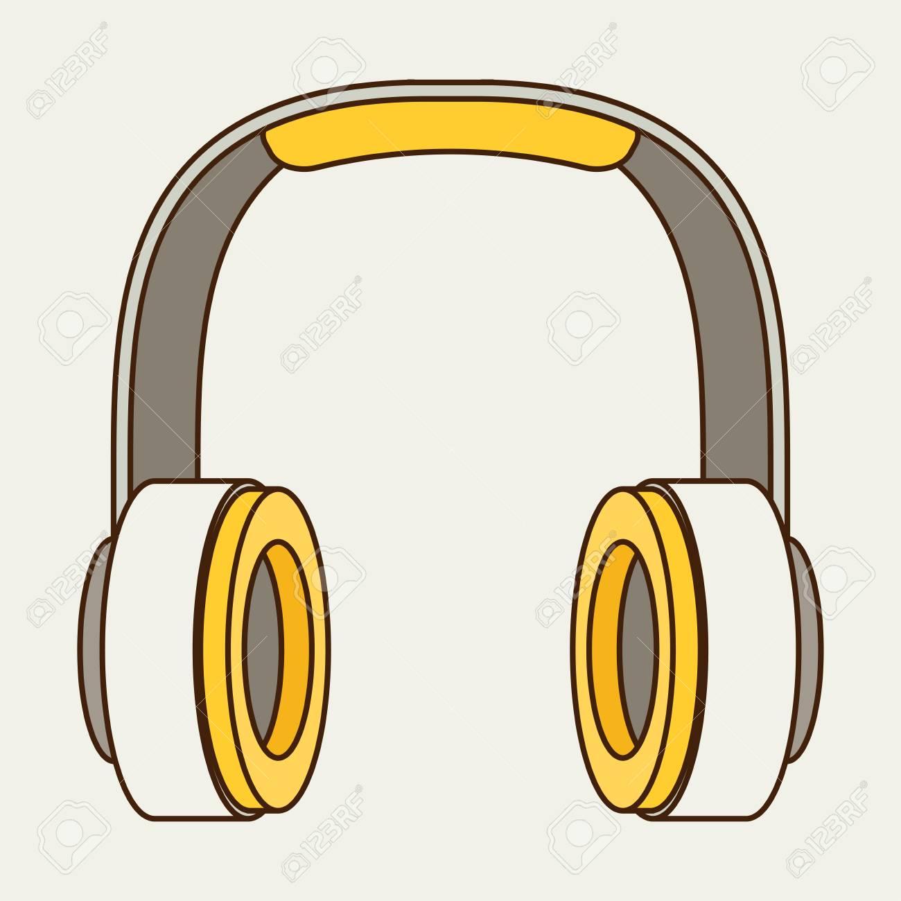 Vektor-Kopfhörer-Symbol Lizenzfrei Nutzbare Vektorgrafiken, Clip ...