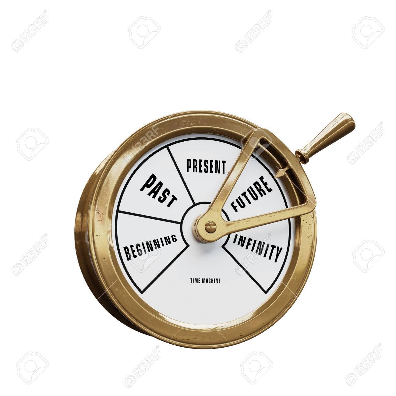 Ship telegraph time machine going to the Future - 86328276