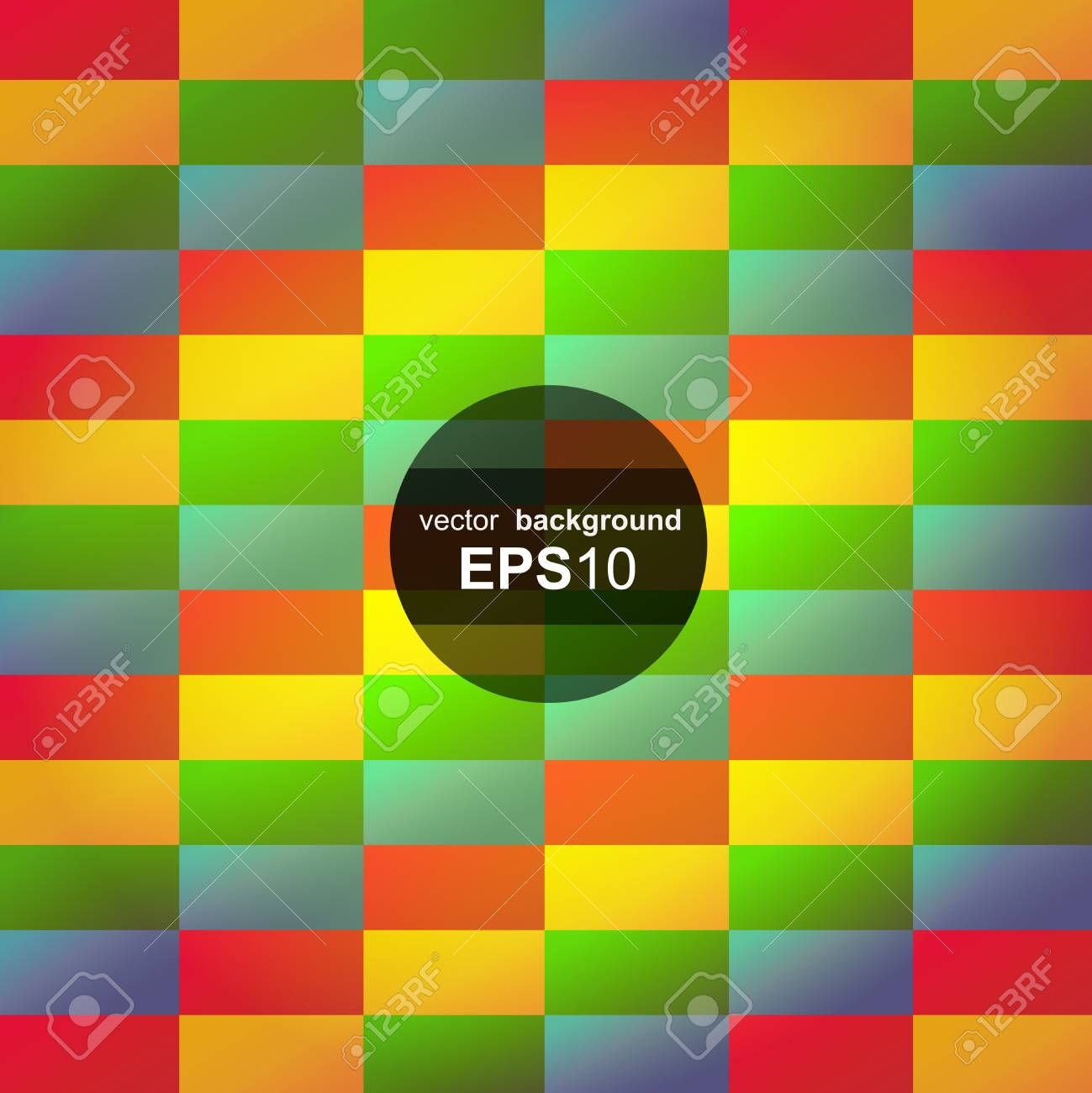 Abstract geometric colorful seamless background Stock Vector - 19902786