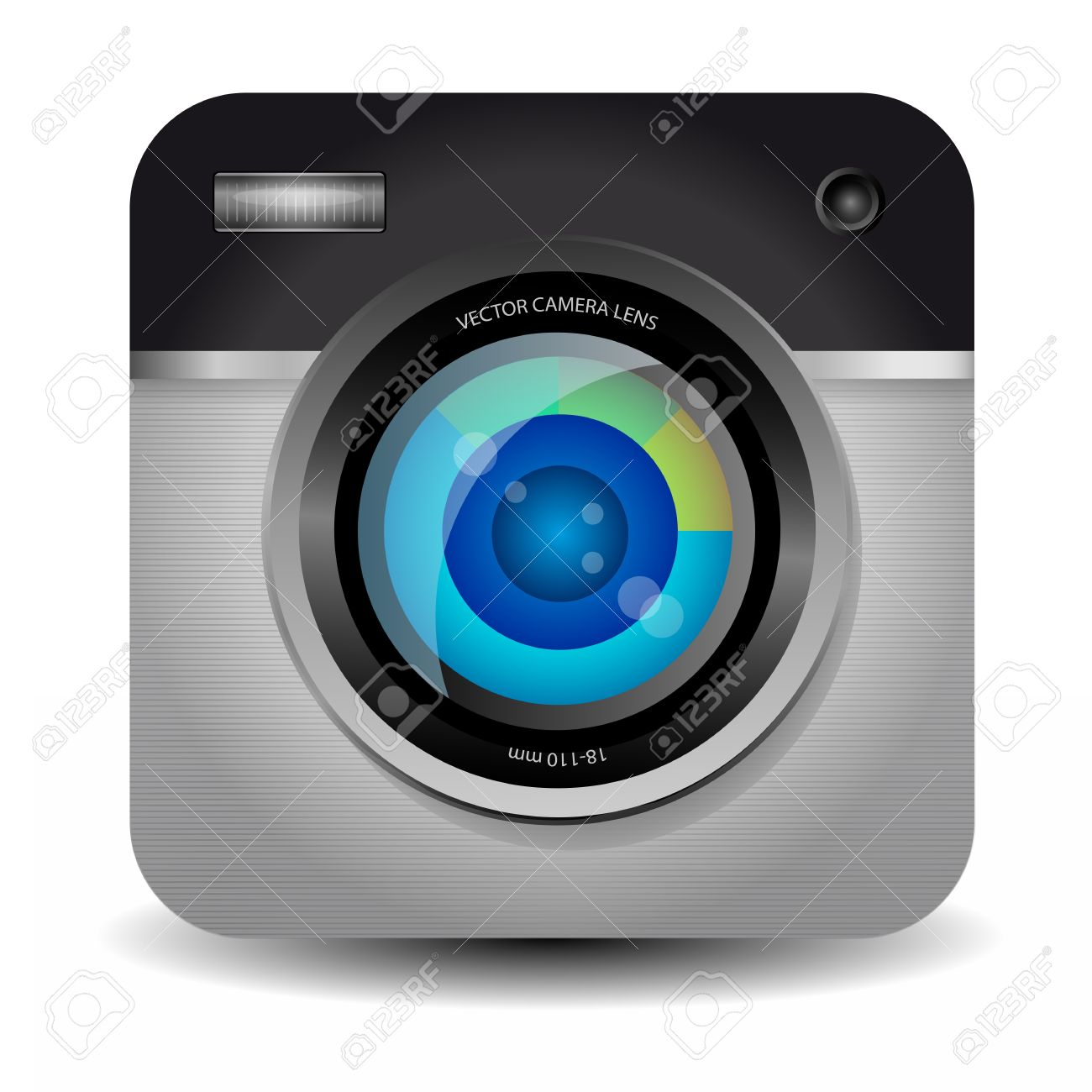 Photo Camera App Icon Royalty Free Cliparts, Vectors, And Stock ...