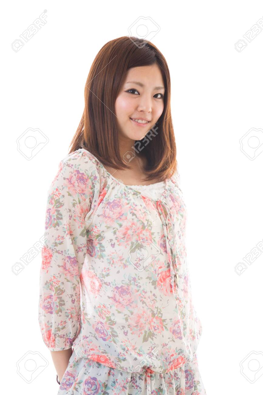 Young woman of the smile Stock Photo - 13778521