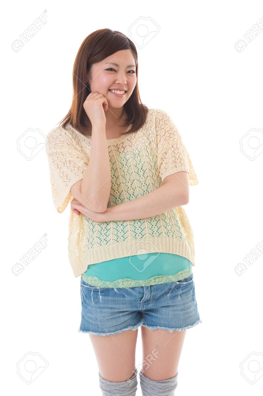 Portrait of a young woman Stock Photo - 13825352