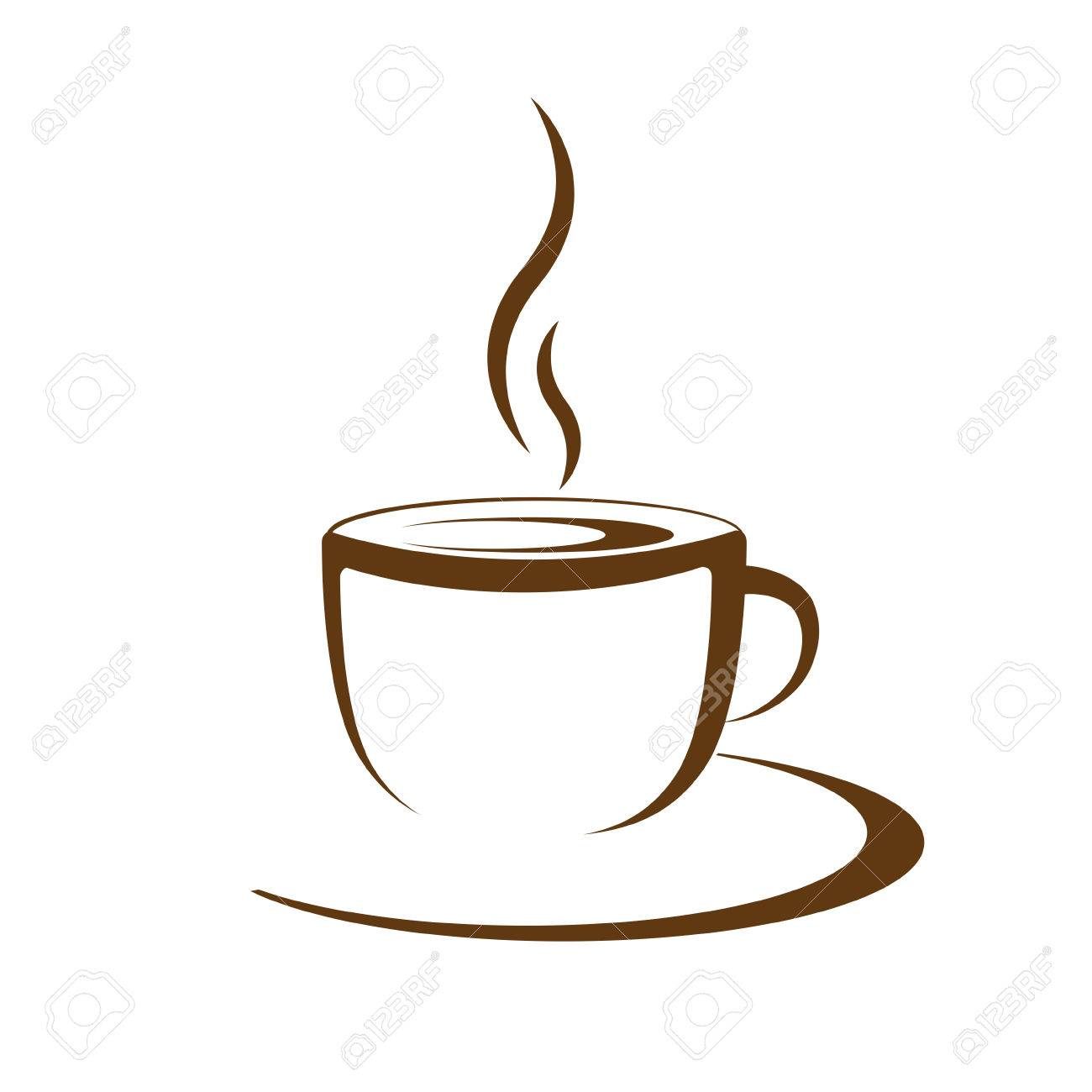 hot coffee cup vector on a white background royalty free cliparts rh 123rf com coffee cup vector icon coffee cup vector free