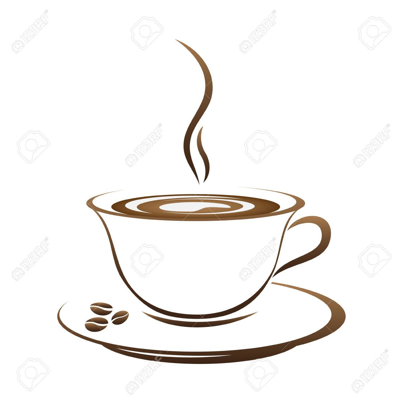 hot coffee cup vector on a white background royalty free cliparts rh 123rf com cup vector ai cup vector file