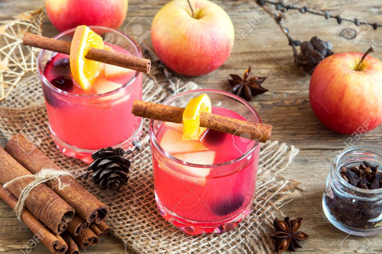 Delicious Festive Cranberry And Apple Cider (holiday Punch ...