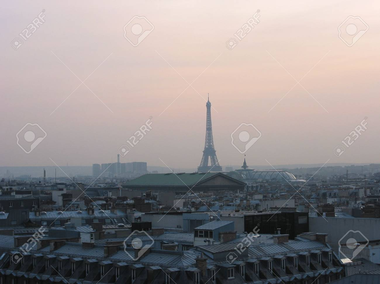 Picture Taken In The French Capital One Of The Most