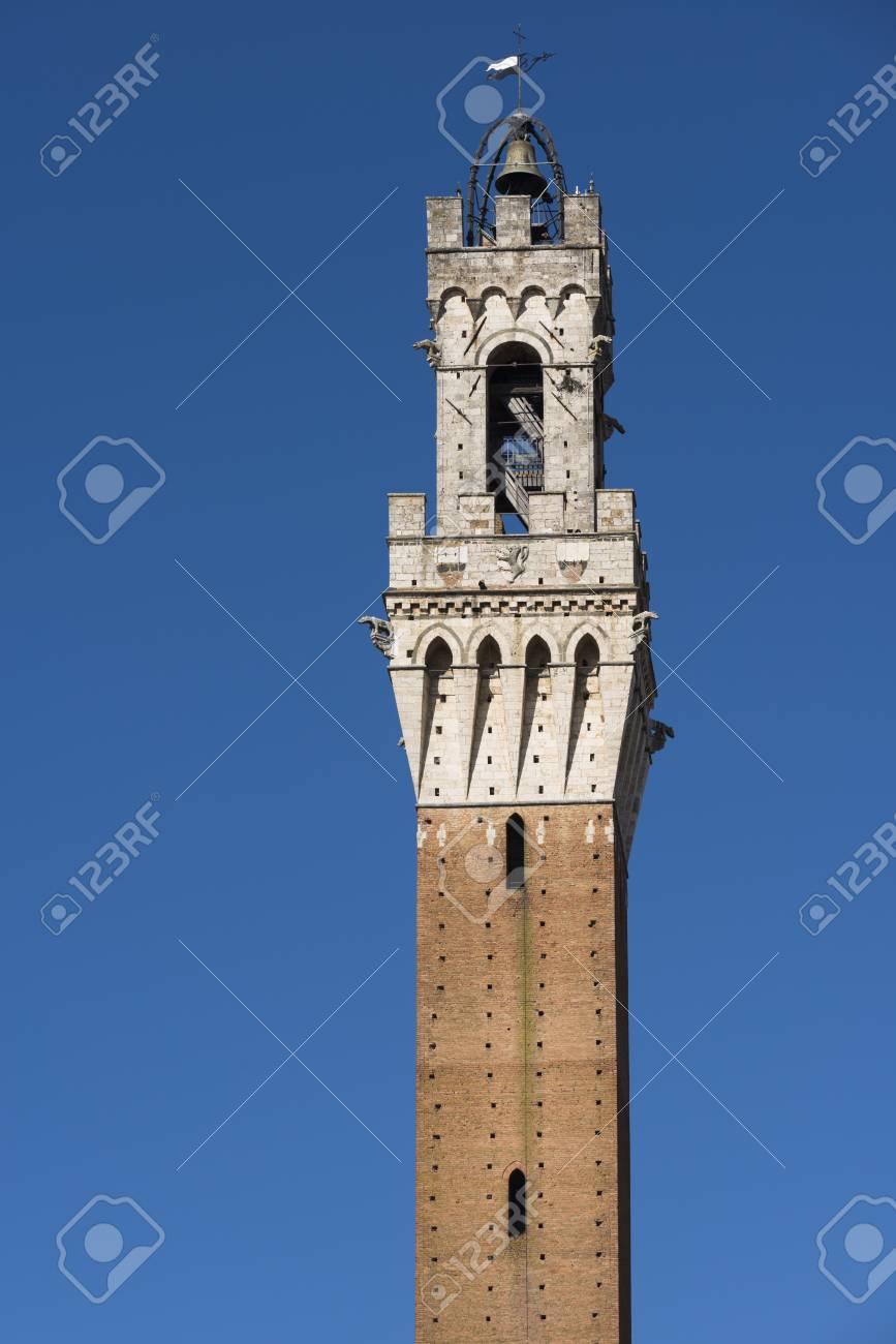 Rahmen Aus Siena, Eine Der Schönsten Mittelalterlichen Stadt In ...