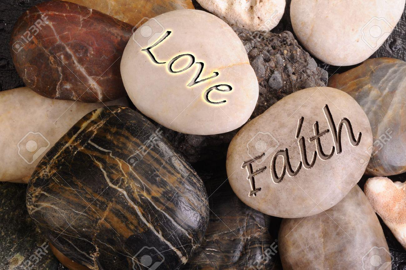 Love and Faith Stones. - 11835397