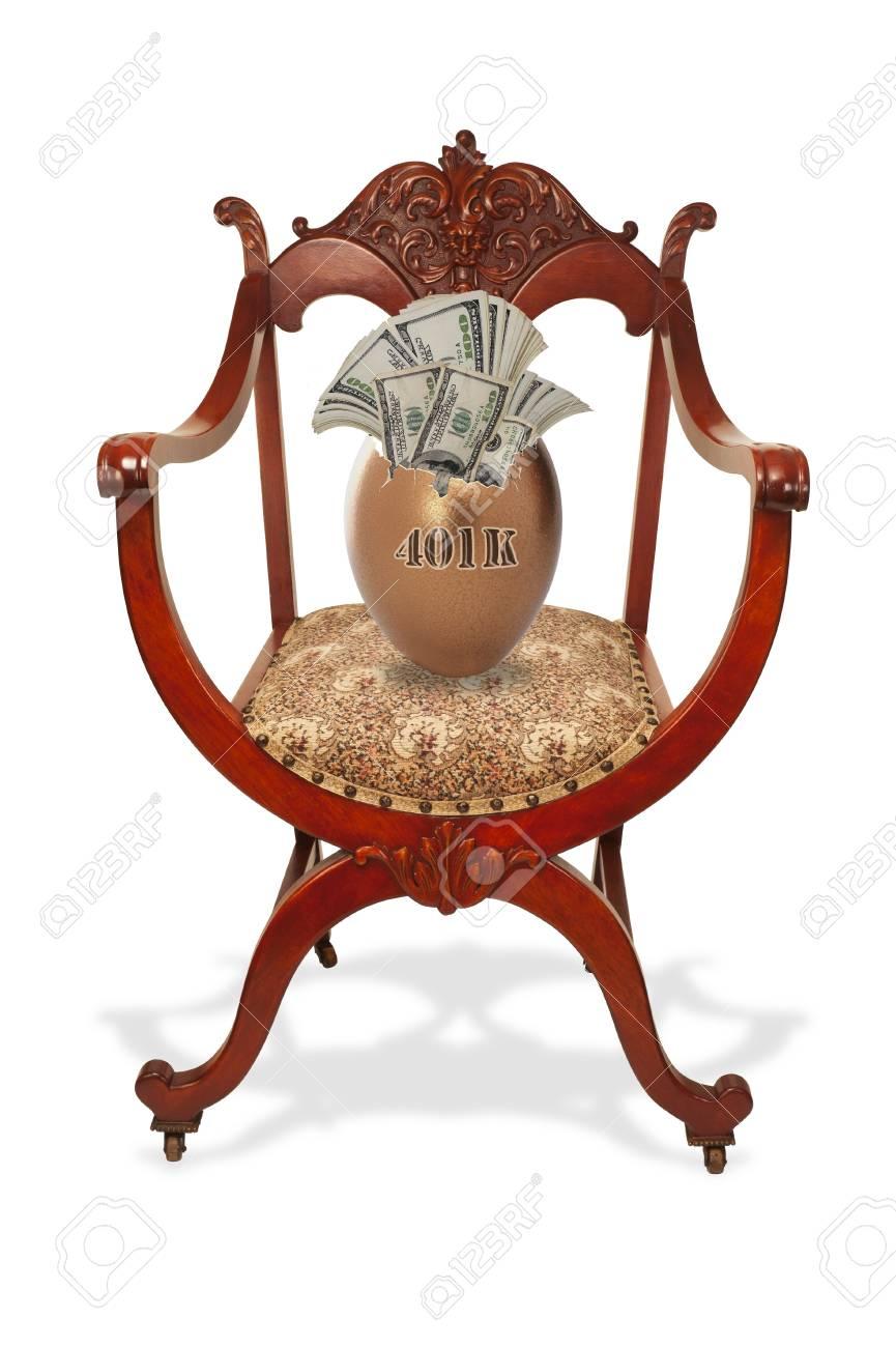 401K Nest Egg Stock Photo - 12441856