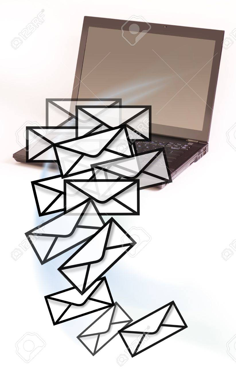 Computer Mail Stock Photo - 13344738
