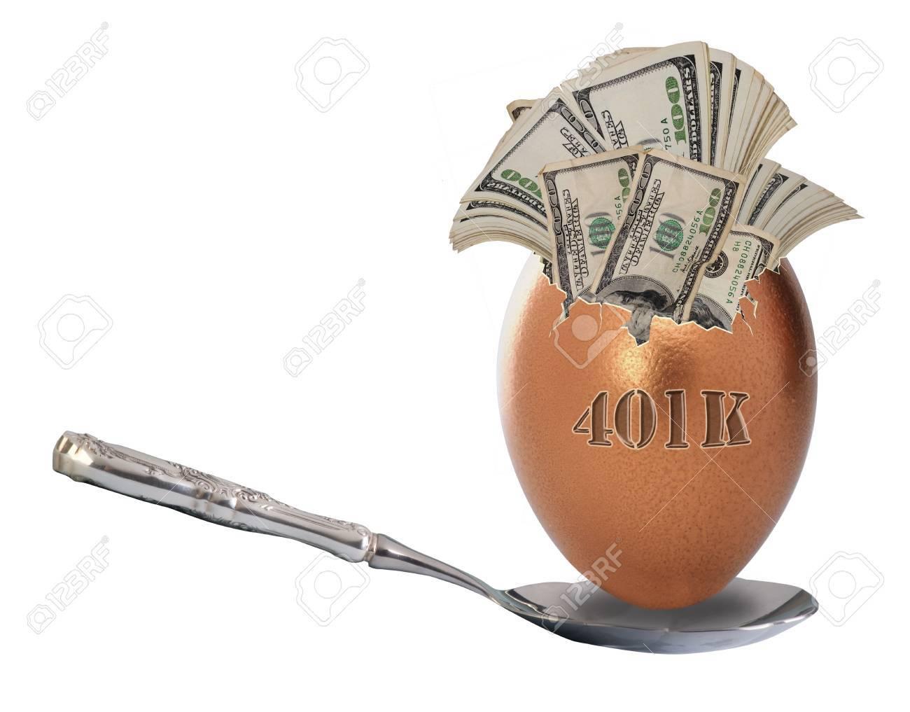 401K Nest Egg Stock Photo - 14330184