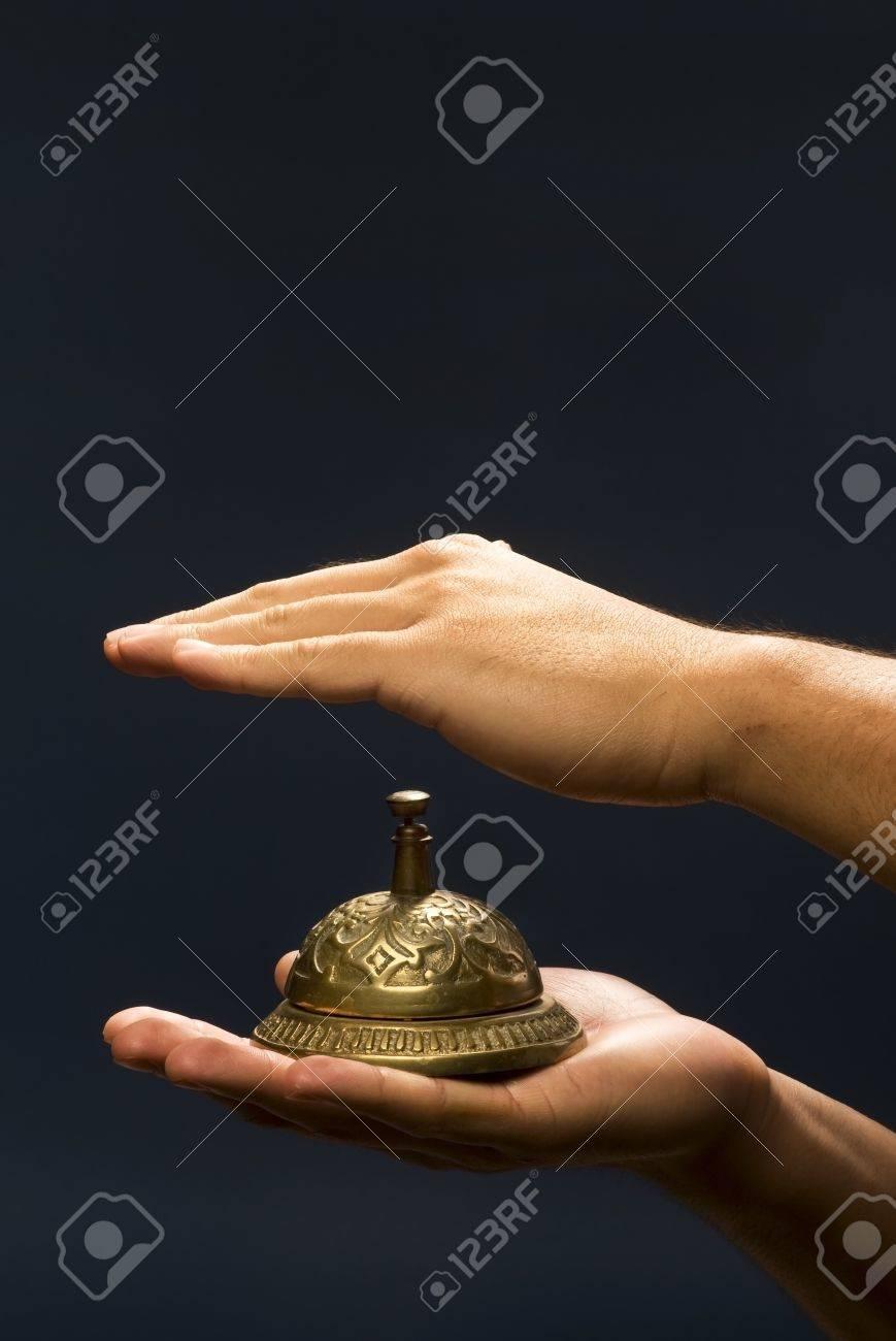 Brass Service Bell Stock Photo - 14620382