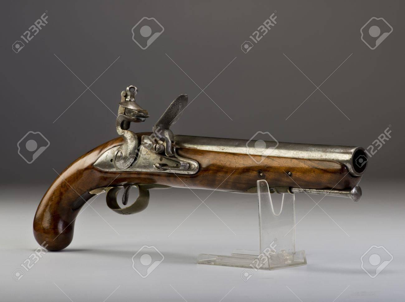18th century English Tower flintlock pistol Stock Photo - 19454969