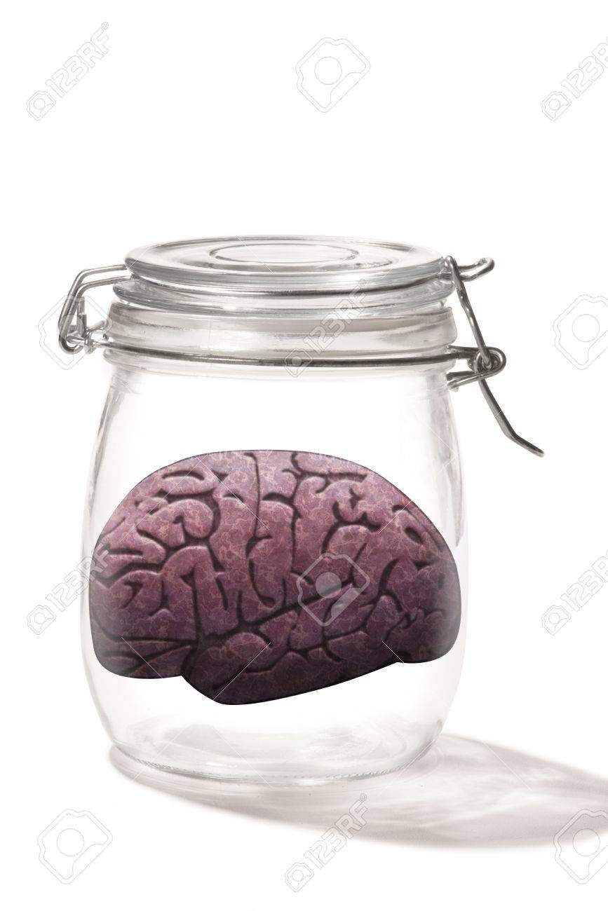 Brain in a jar Stock Photo - 19685974