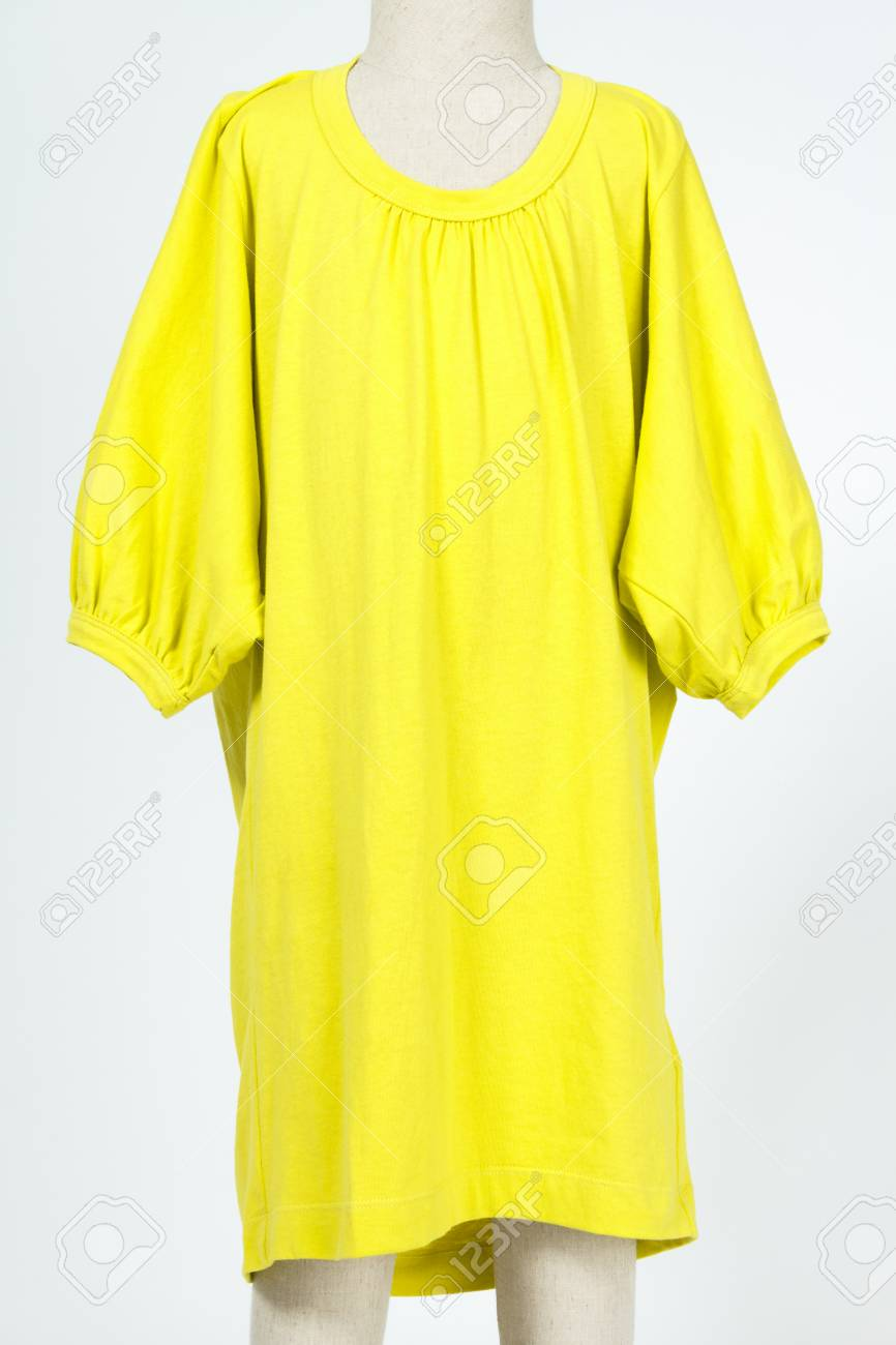 Clothing for children on a small mannequin - dummy Stock Photo - 22609647