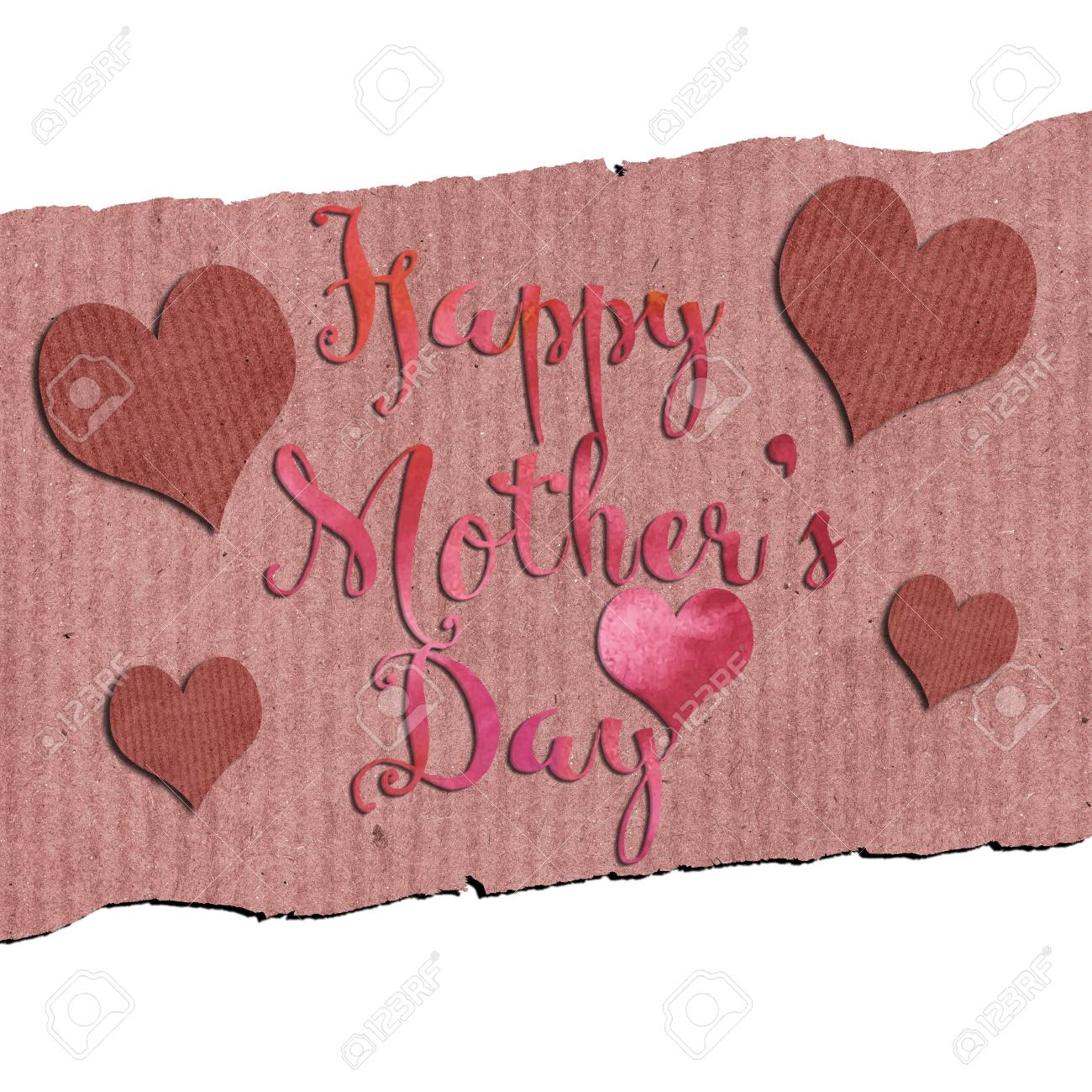 A greeting card with the message happy mothers day stock photo a greeting card with the message m4hsunfo
