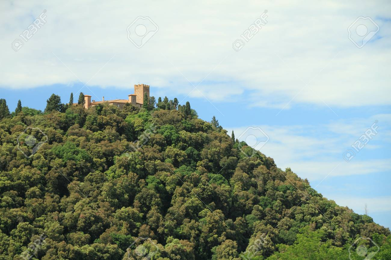 castle on hill Stock Photo - 7621160