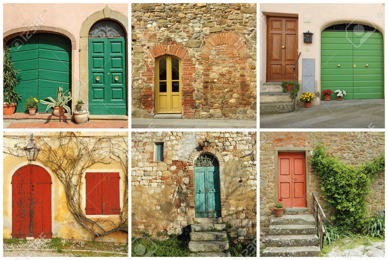 italian doors collage Stock Photo - 32350706 & Italian Doors Collage Stock Photo Picture And Royalty Free Image ...
