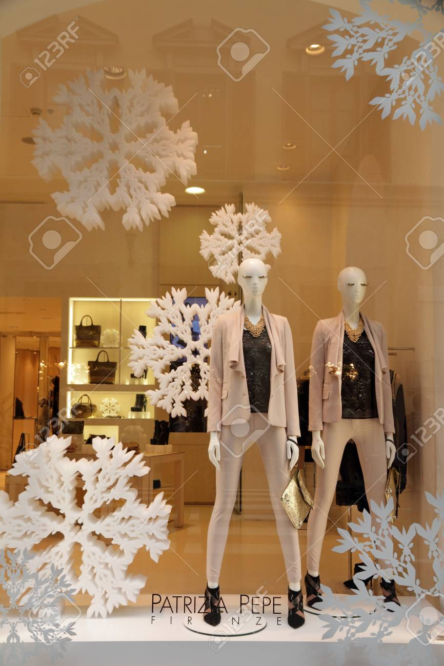 FLORENCE - DEC 6 Patrizia Pepe boutique is a florentine fashion house  created in 1993 c2b2b581704