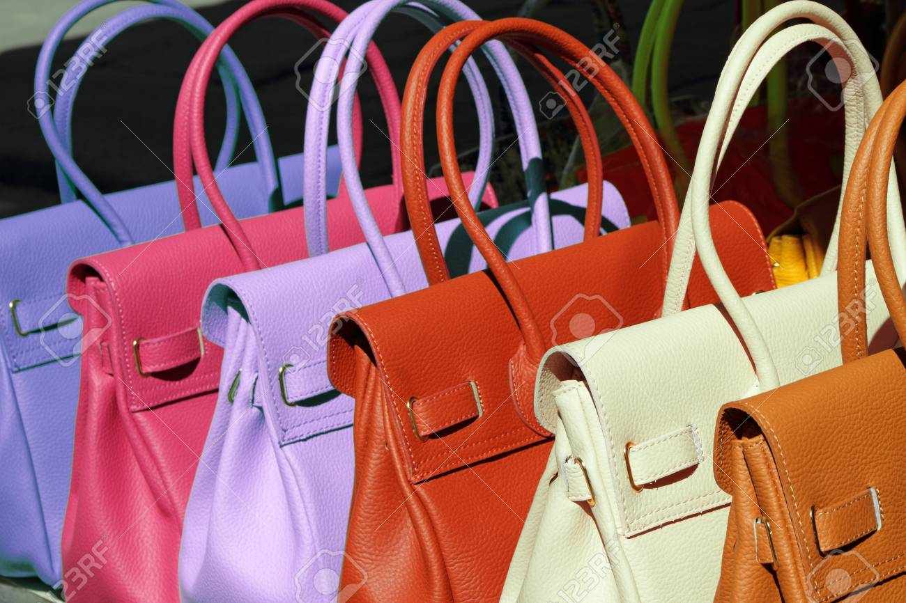 2d7f335f2f Colorful Summer Fine Leather Handbags Collection