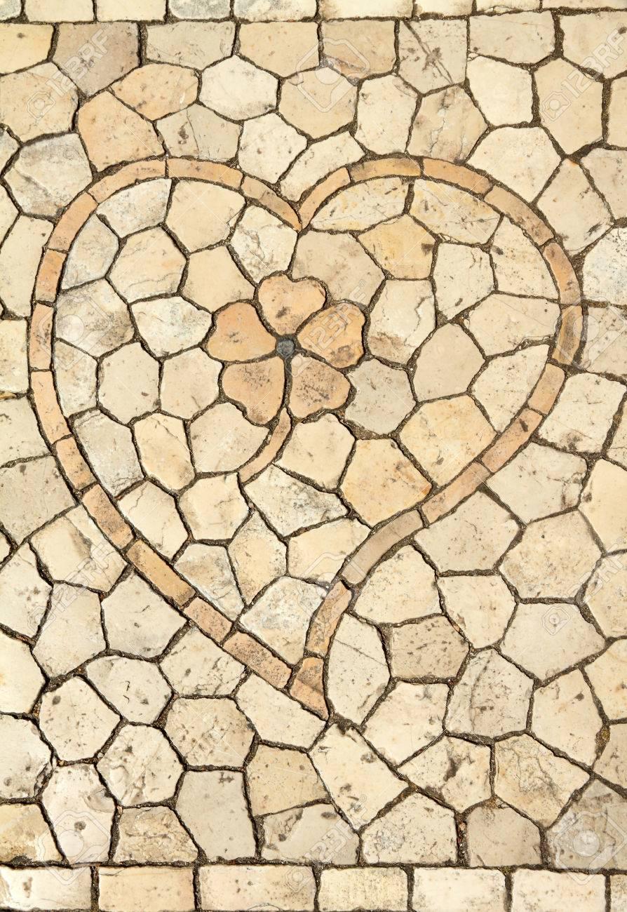 traditionelle portugiesische dekorative kleine fliesen mosaik mit