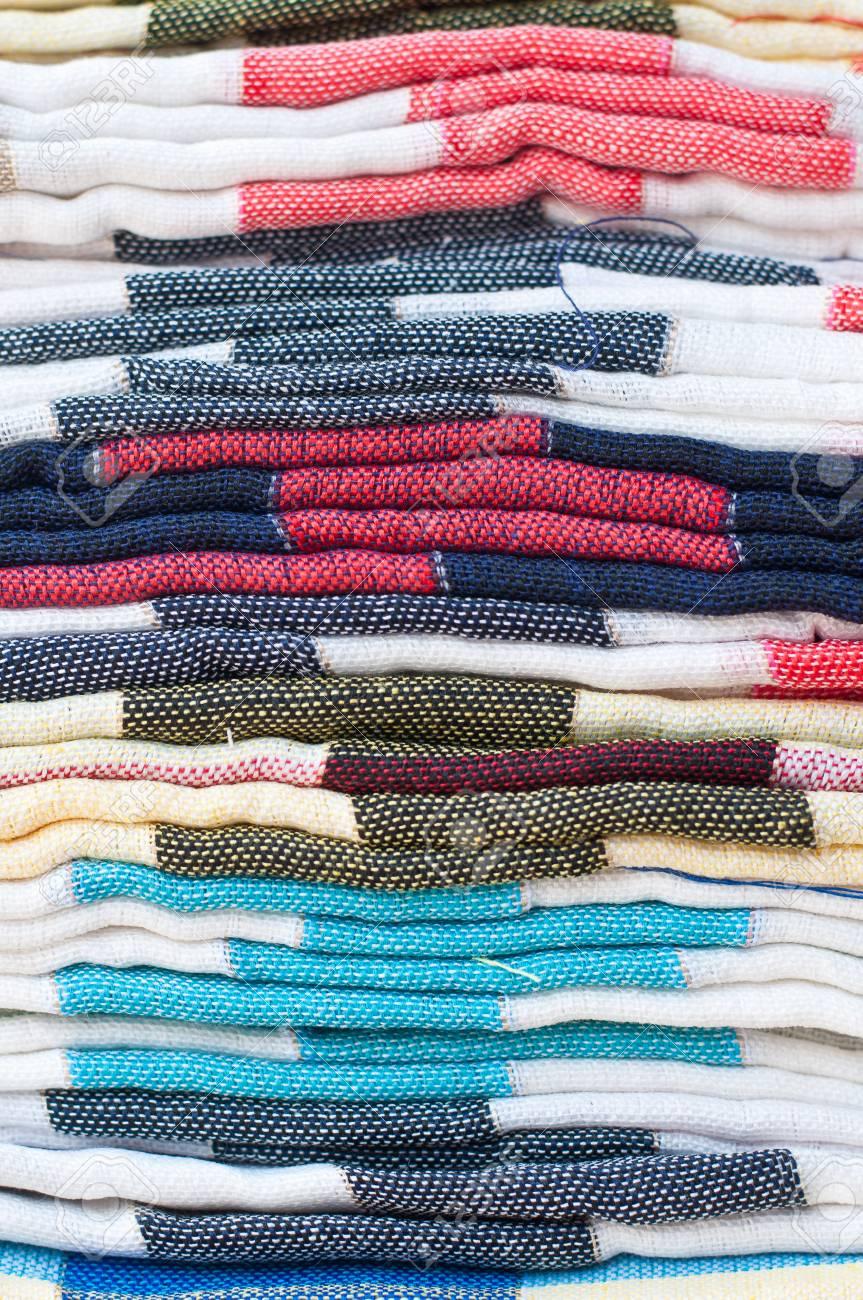 Closeup Folded Of Fabric 0e8a6e198