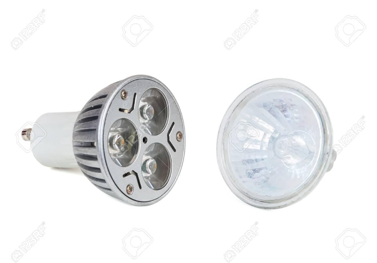Fond Led Halogène Blanc Lampe Et Isolé Sur Ampoule OPilZXuTwk
