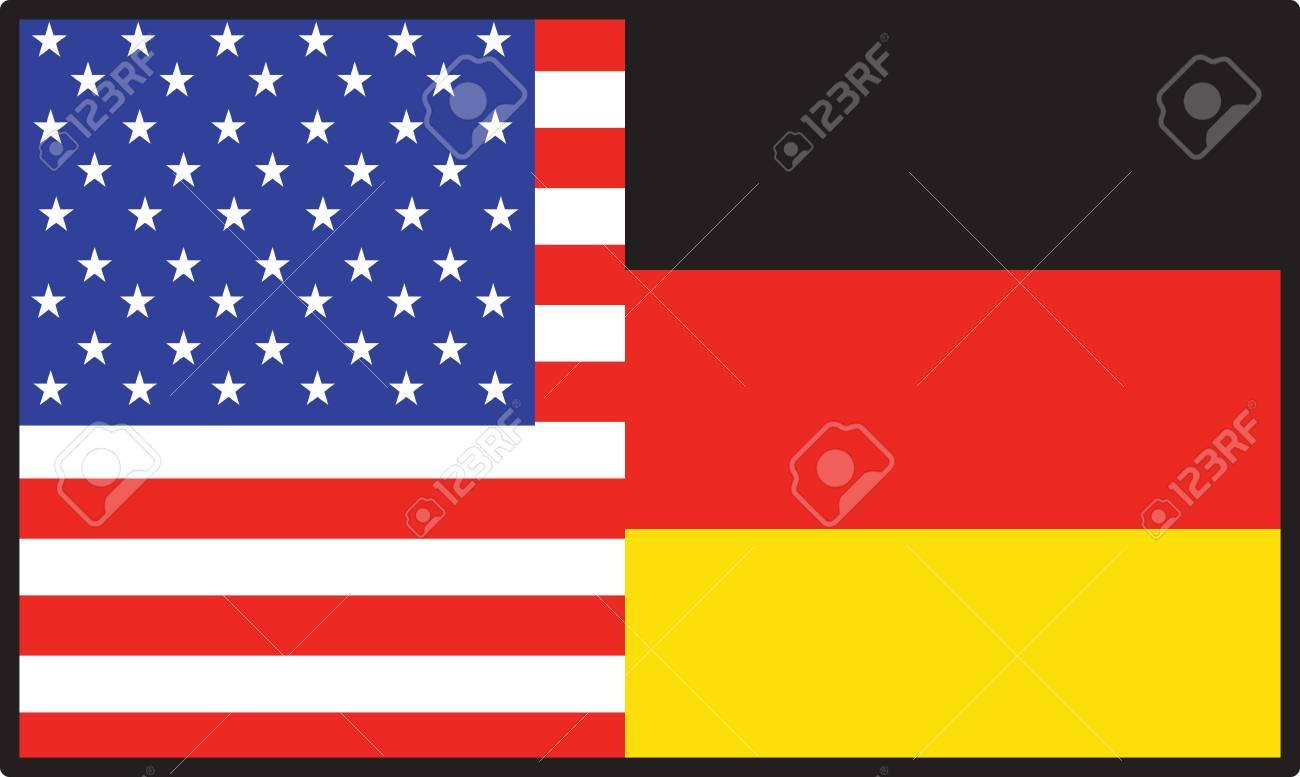 アメリカ人であり、半分ドイツ語...