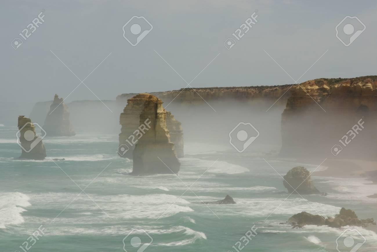 Twelve Apostles at the Great Ocean Road in Australia Stock Photo - 11127139