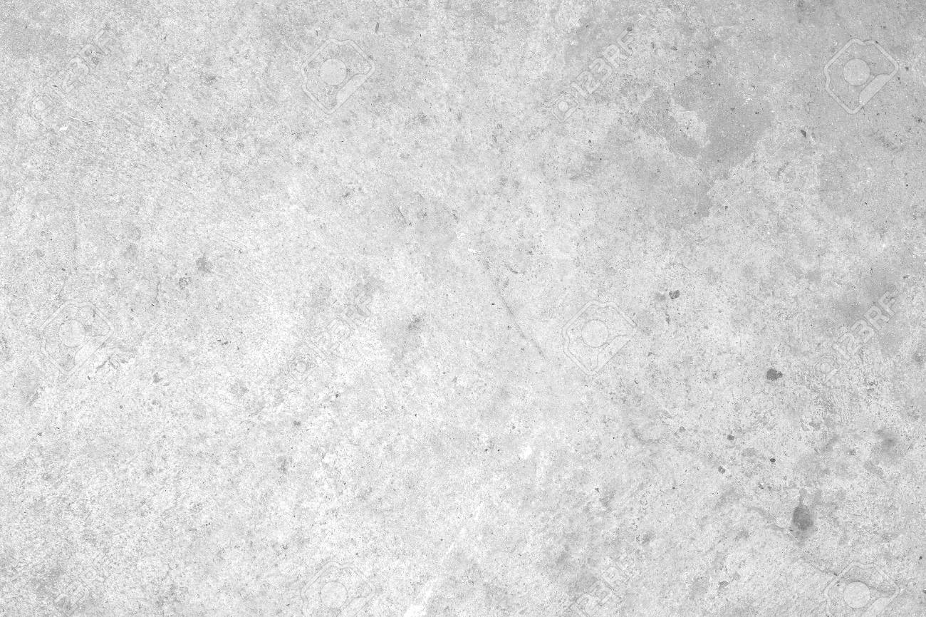Concrete floor white dirty old cement texture - 43940983