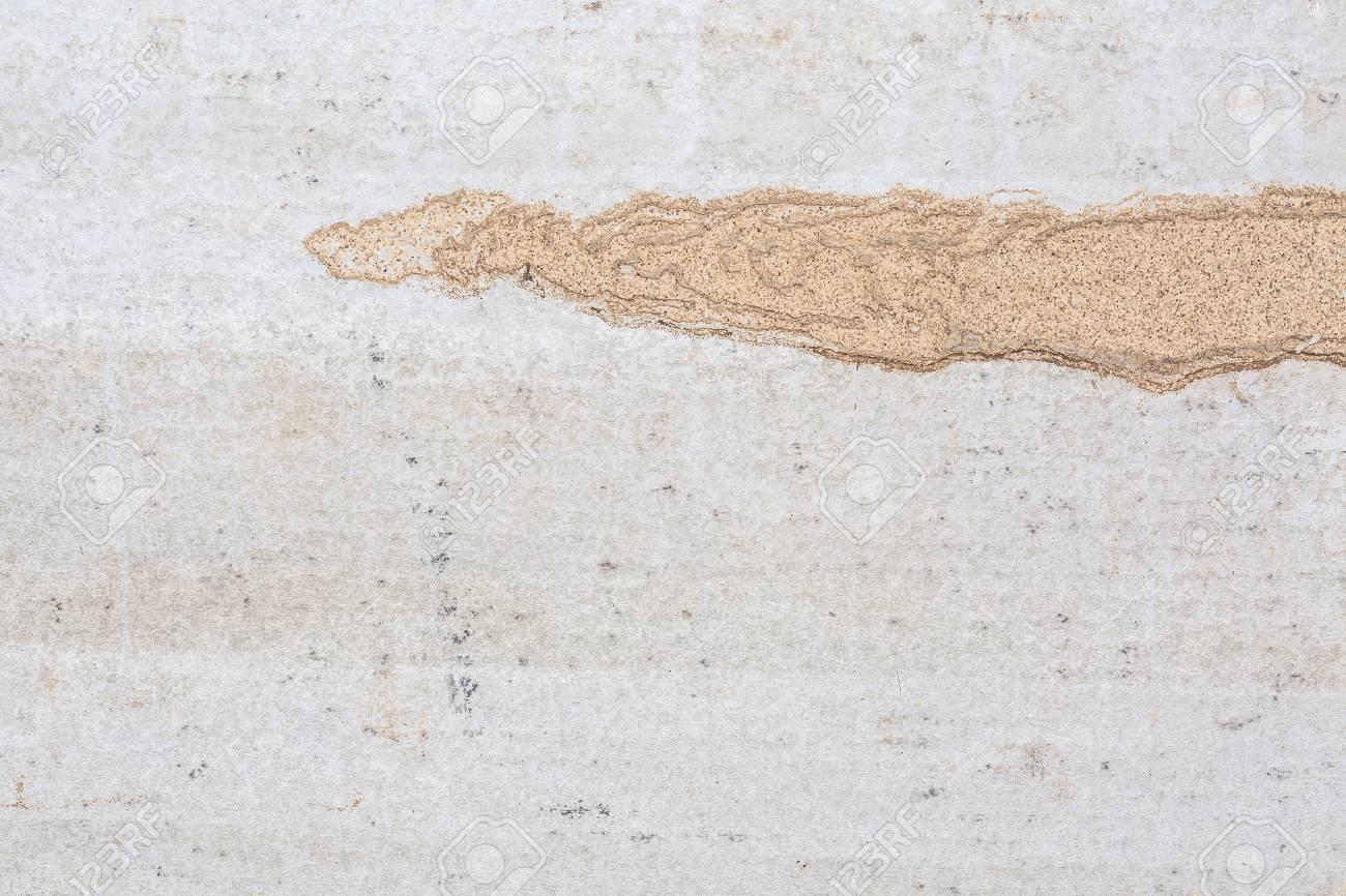 Blanc Béton Texture Mur De Fond Avec Les Termites Tache D\'argile ...