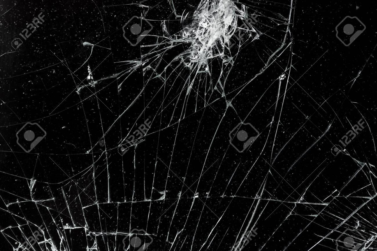 Vue De Dessus Craque Ecran Mobile Casse Texture Texture De Verre Banque D Images Et Photos Libres De Droits Image 88136200
