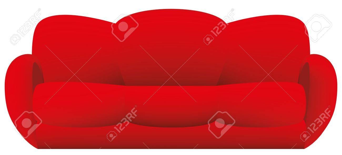 sofa vector Stock Vector - 16924855