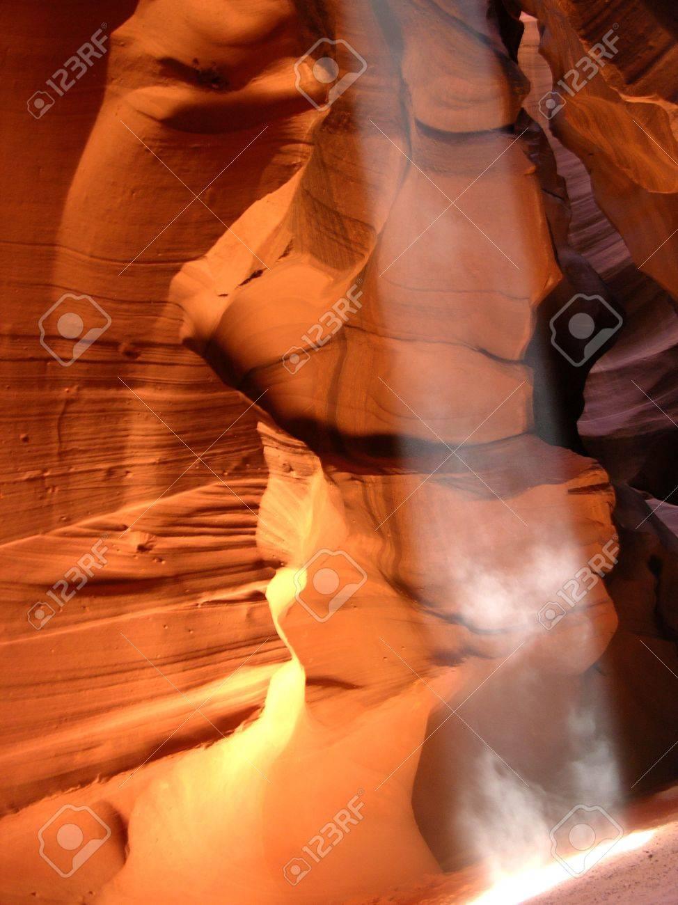 Amazing light and color of Antelope Canyon, Page Arizona. Stock Photo - 263943