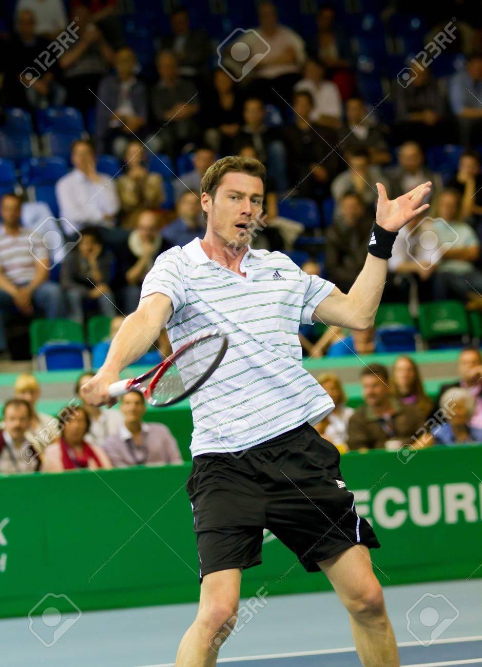 ZURICH SWITZERLAND MARCH 24 Marat Safin Plays Tennis For 3rd
