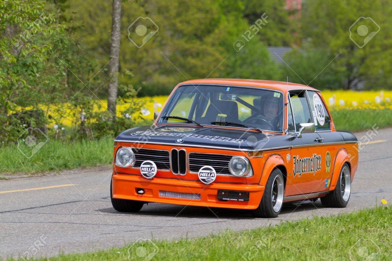Mutschellen Switzerland April 29 Vintage Race Touring Car Bmw Stock Photo Picture And Royalty Free Image Image 14986311