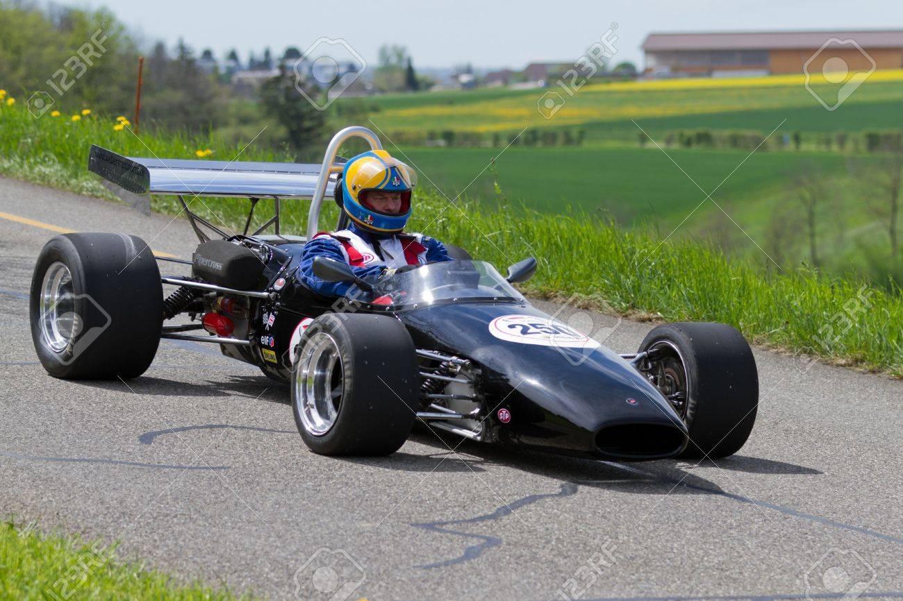 Mutschellen Switzerland April Vintage Race Car Brabham Bt