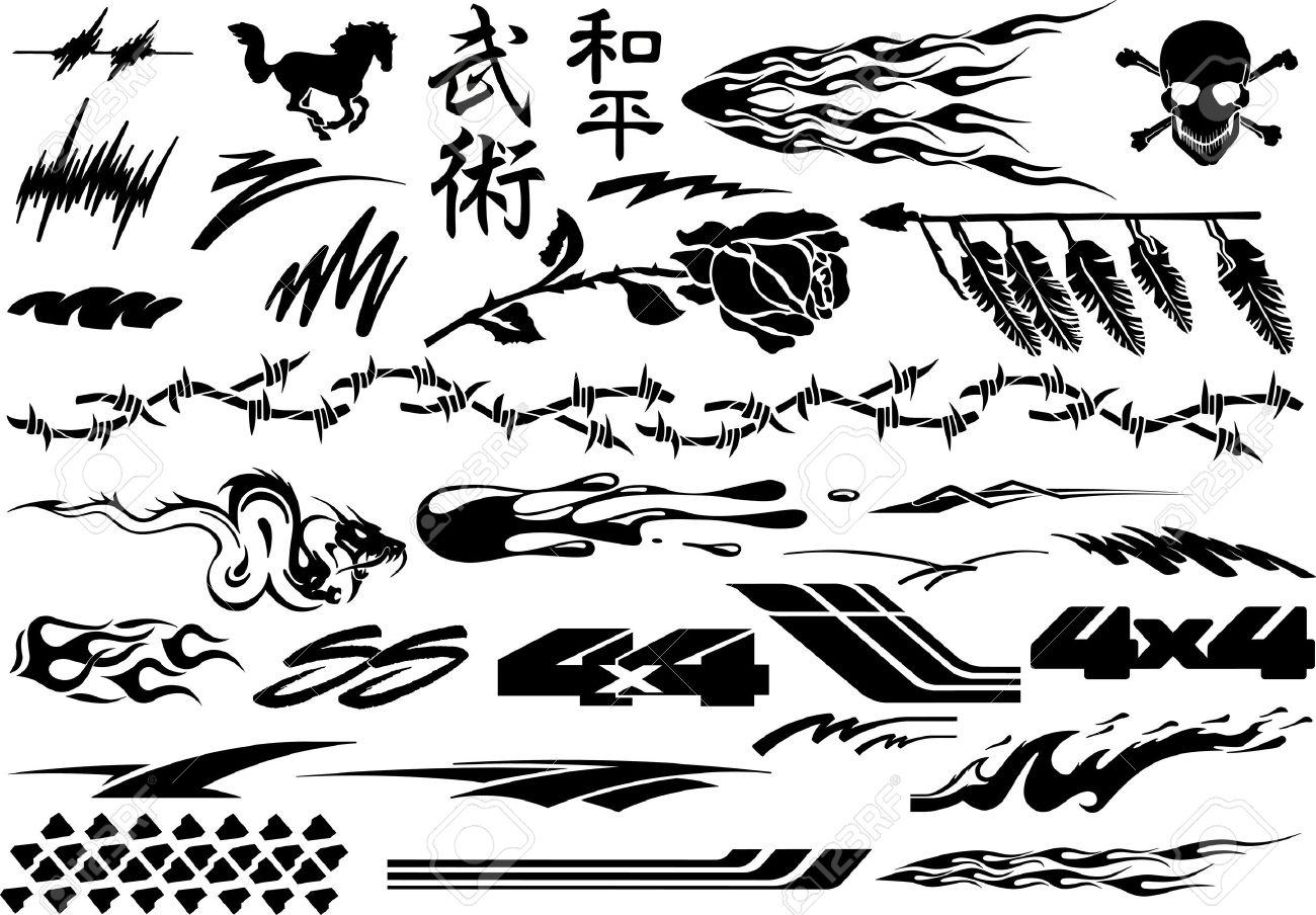 Car, Motorcycle Racing Vehicle Graphics, Vinyls & Decals - 68188606