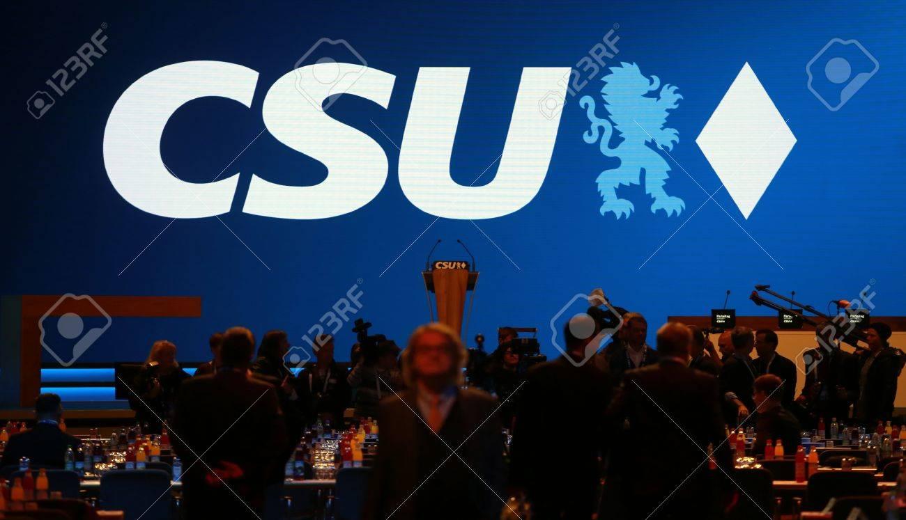 November 4, 2016 - Munich, Germany - CSU party convention Standard-Bild - 86462161