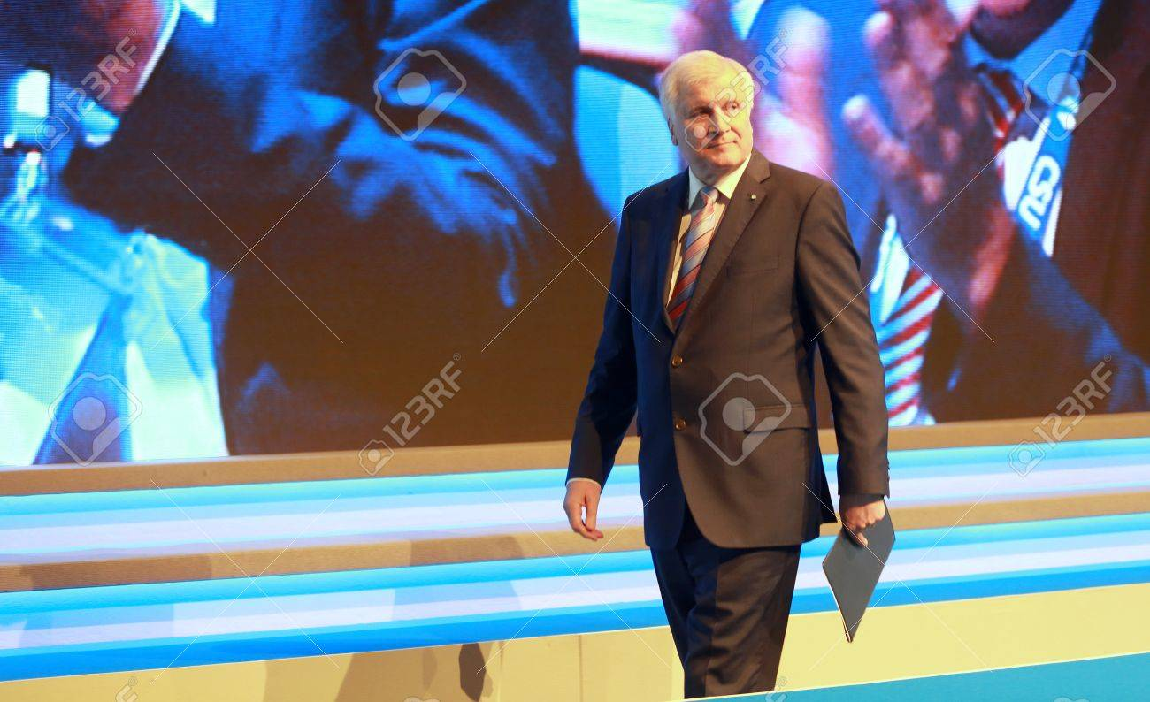 November 4, 2016 - Munich, Germany - Horst Seehofer, Minister President of Bavaria and chairman of the CSU on his way from the lectern to his seat (on a CSU party convention) Standard-Bild - 86462167