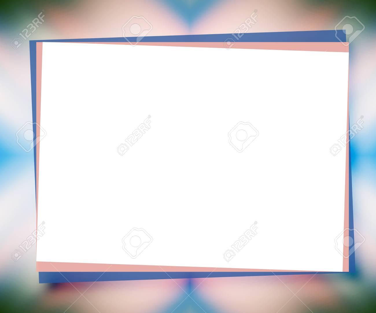 Fondo Universal Azul Pálido Y Rosa Con Texto Grande Como Papel ...