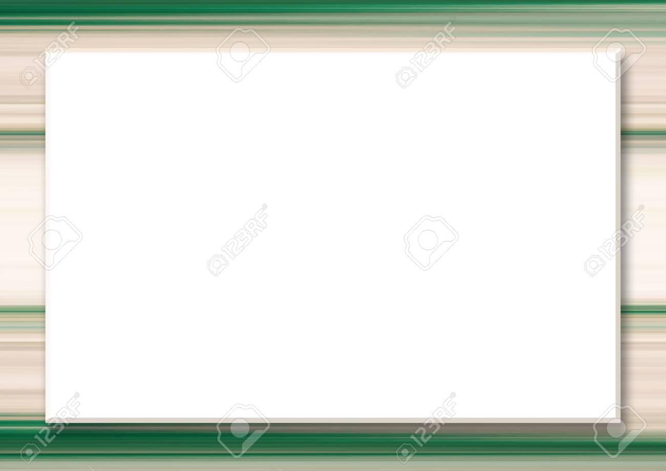 Mock up template with big white rectangular text box striped mock up template with big white rectangular text box striped border abstract beige stopboris Images