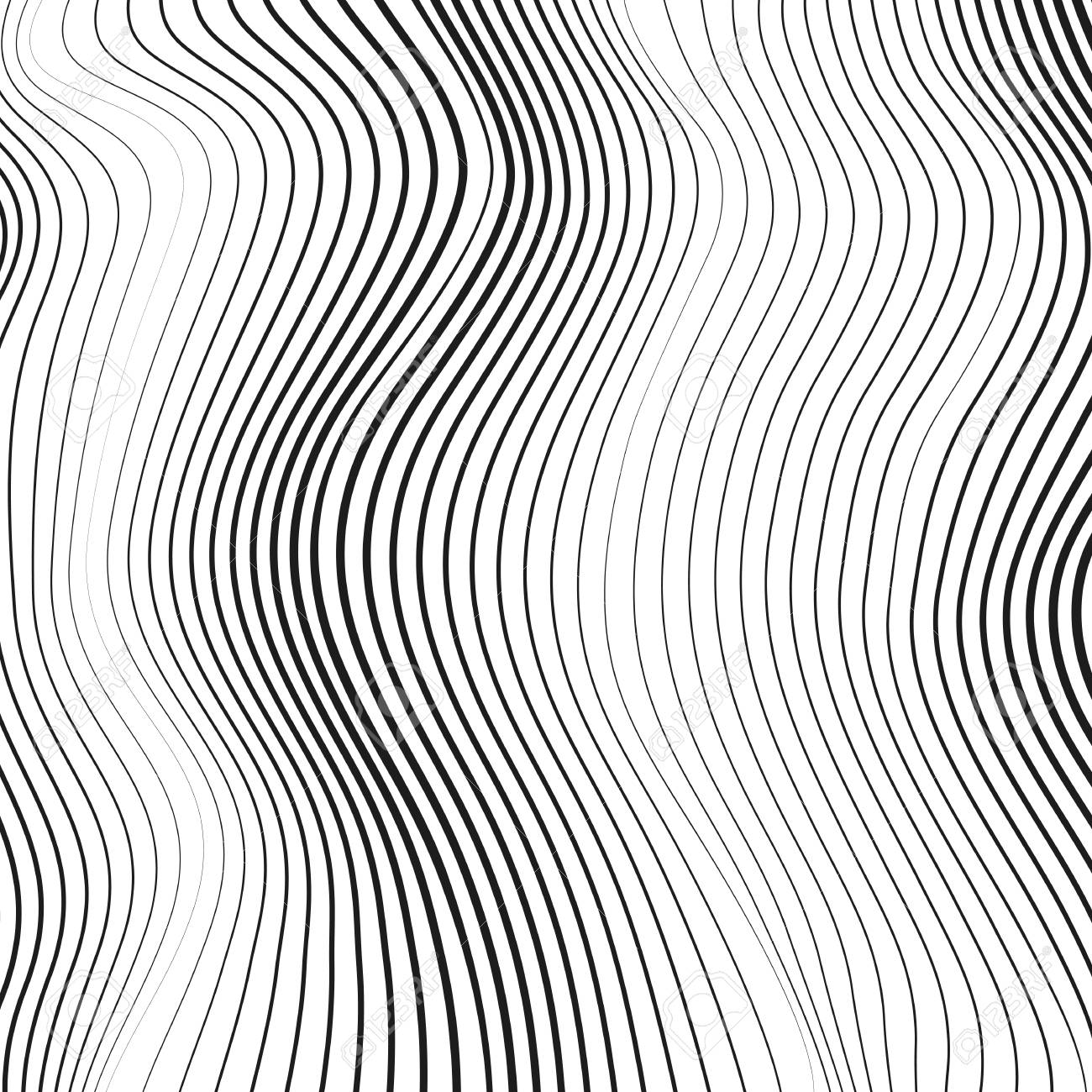 Simple Abstract Art Black And White Lines