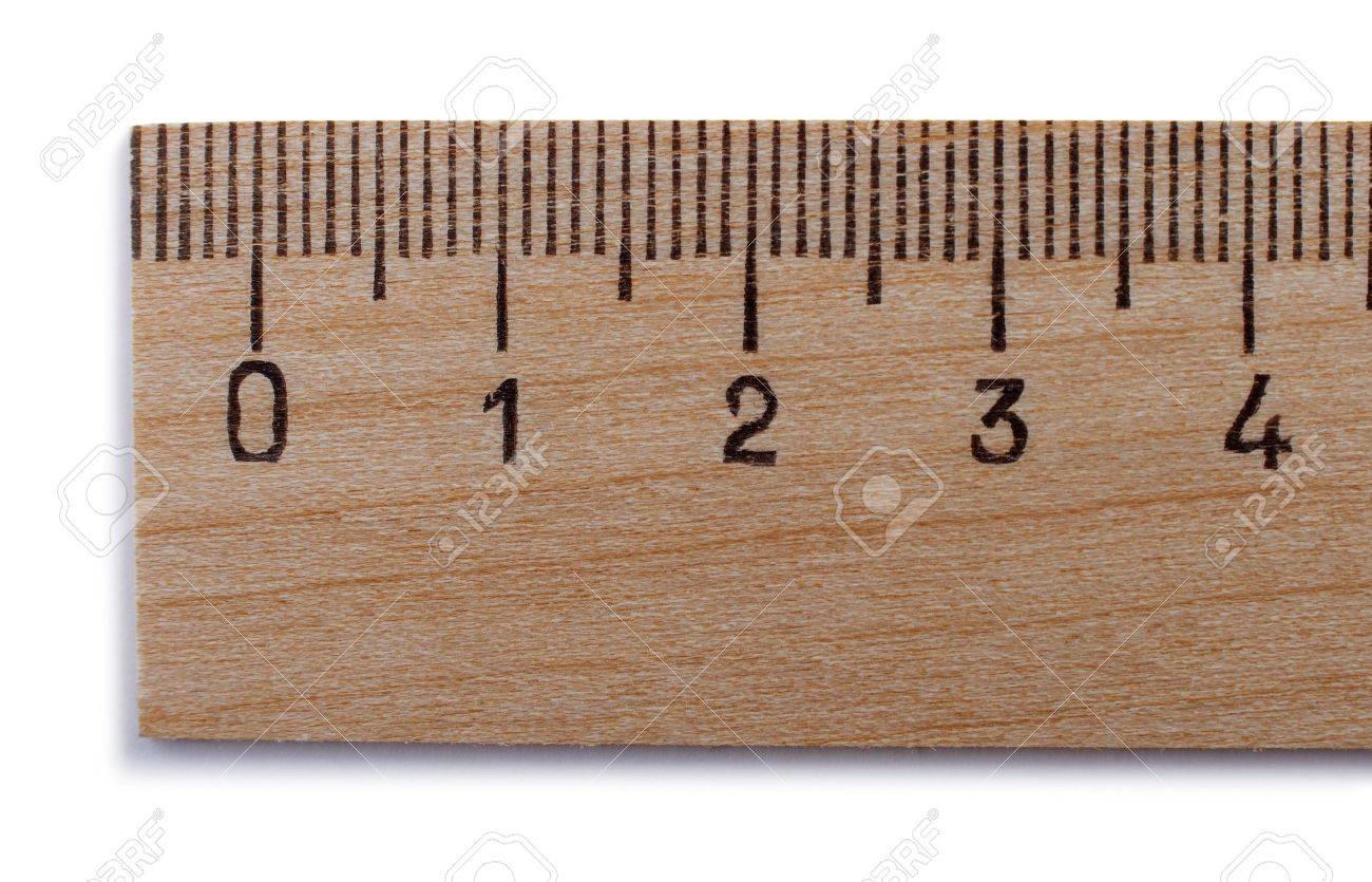 yardstick on a white background - 11696277